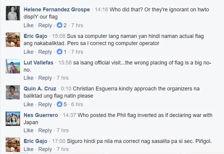 netizens-react-inverted-flag-agri-sec