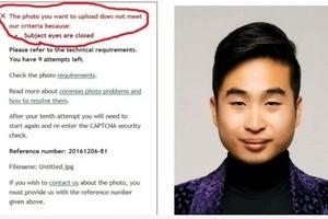 Oops, Unintentional Racism Alert - Passport Checker Tells Asian Man To Open His Eyes