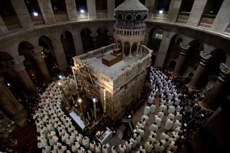 Traditional beliefs over Jesus Christ's tomb backed by scientific test