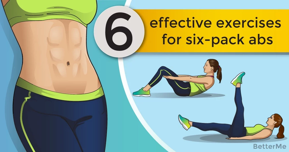 6 effective exercises for six-pack abs