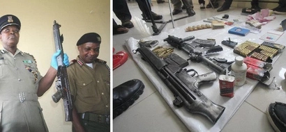 Shock as Mombasa police issue guns to the most wanted Drug baron in Mombasa