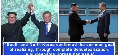 Nagkasundo na! North and South Korean leaders agree to end war