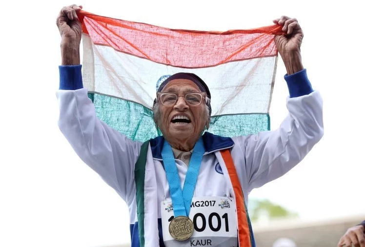 101-year-old woman wins 100m sprint, bags her 17th gold medal (photos)