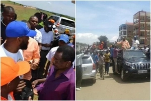 Several injured in Migori as police disperse Joho's rally