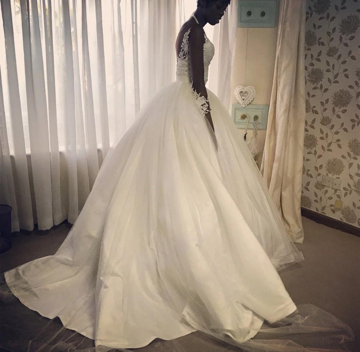 "Adelle Onyango wedding. A beautiful ""celebration of love with family"""