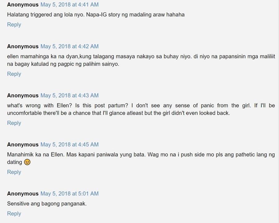 Viral video ni Ellen Adarna habang matapang na niresbakan ang babaeng netizen sa 'paparazzi' posts niya