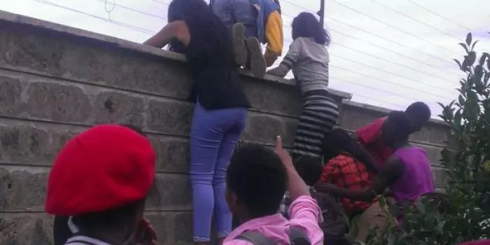 This building where underage school children do 'dirty' things in broad daylight