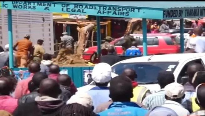 Chaos erupt during NASA rally in Mt. Kenya