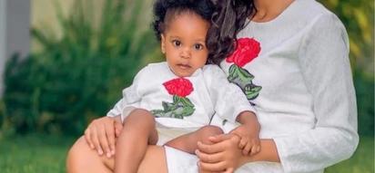 7 seriously adorable photos of Diamond Platnumz mpango wa Kando's daughter that explain why Diamond cheated