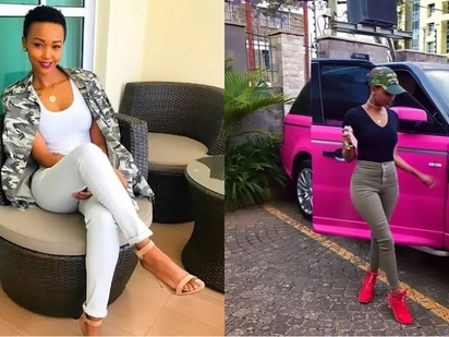 I'm scared the next person who eats my cookie will get me pregnant- Huddah Monroe