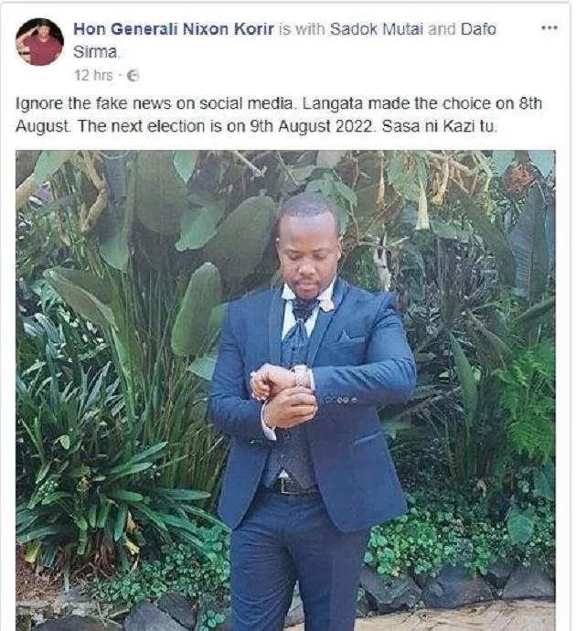 Mbunge wa Jubilee akana mahakama imefutilia mbali ushindi wake