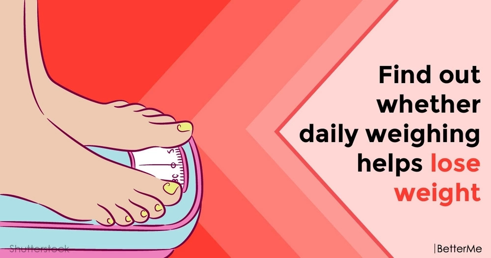 Find out whether daily weighing helps lose weight