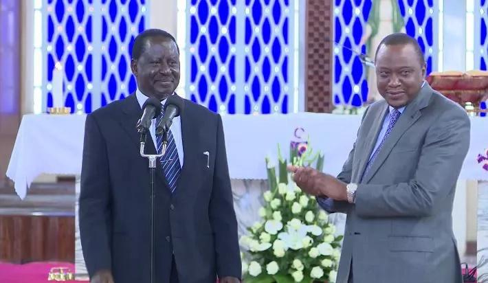 Uhuru amshinda Raila Odinga kwenye kura ya maoni ya urais,Utafiti