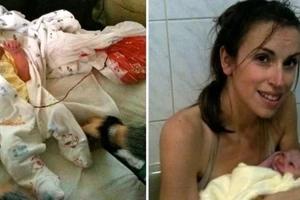Madre no cortó cordón umbilical de bebé por 6 días para tener un 'parto de loto' como los chimpancés