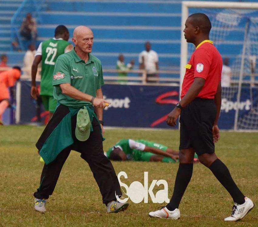 Gor Mahia coach suspended for unbecoming behaviour