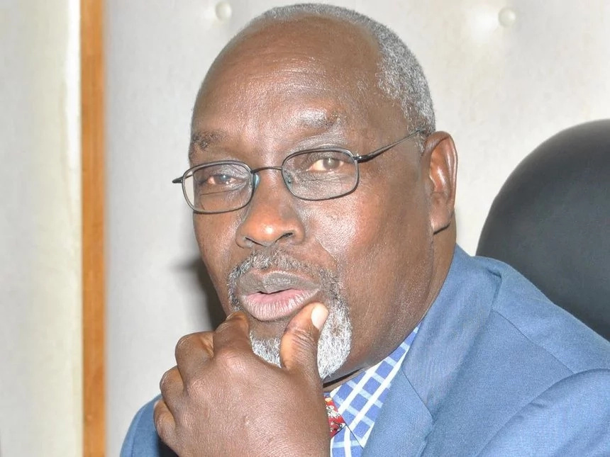 Former Minister Franklin Bett admitted at Nairobi Hospital