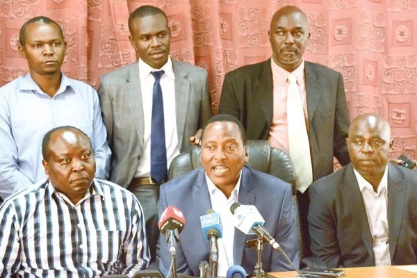 Stand-off looming among NASA leaders over Raila swearing in