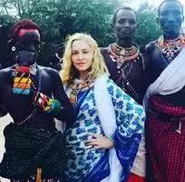 Madonna ashangaza jamaa wa jamii ya wakikuyu