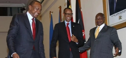 9 youngest presidents in Africa, check President Uhuru's position in the list (photos)