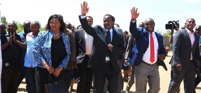 At this point, dialogue is no option, swearing in still on – Kalonzo Musyoka