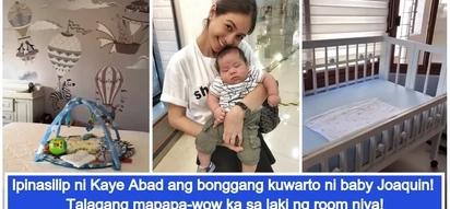 Super laki ng room niya! Kaye Abad gives a mini tour of baby Joaquin's bonggang nursery room