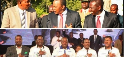 Duale reveals the NASA presidential line up after Raila and Kalonzo