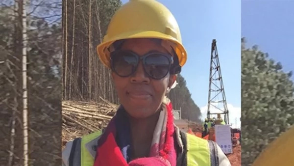 Only 13 percent of participants in the South African mining sector are women. Photo: SABC News