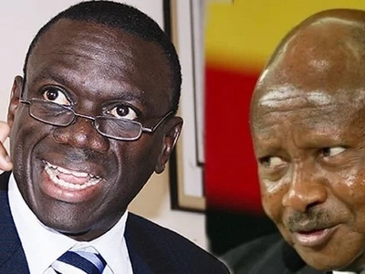 See the heartbreaking thing Museveni did to his bitter political rival (video)