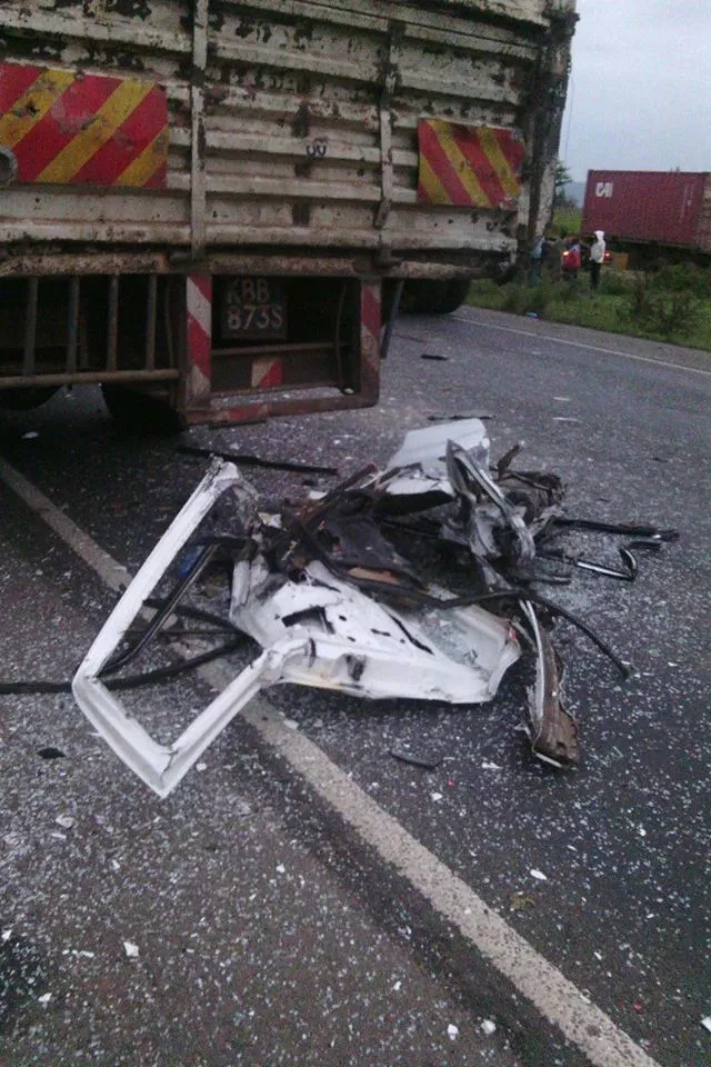 2 perish, 5 injured in road accident at Salgaa