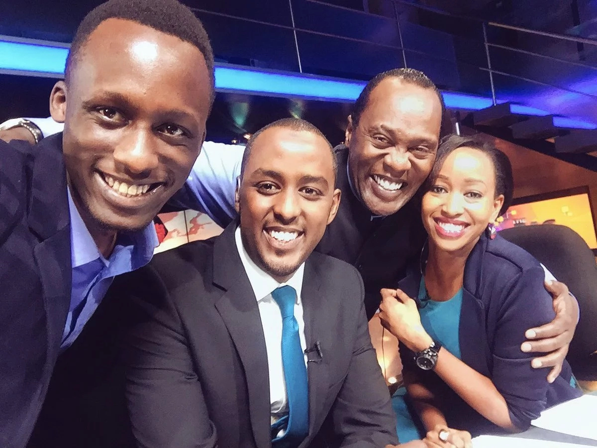 Koinange is allegedly THE REASON WHY Janet Mbugua and Hussein Mohammed ARE LEAVING CITIZEN TV