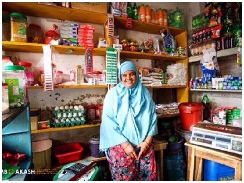 Woman, 30, who became first female shopkeeper in entire village, shares her inspiring story