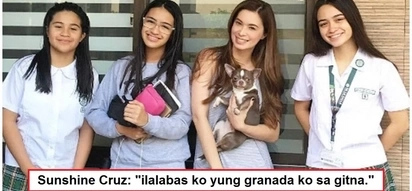 "Sunshine Cruz gets honest on the kind of guys she wants as her daughters' future boyfriends: ""Hindi naman po tayo bastos"""