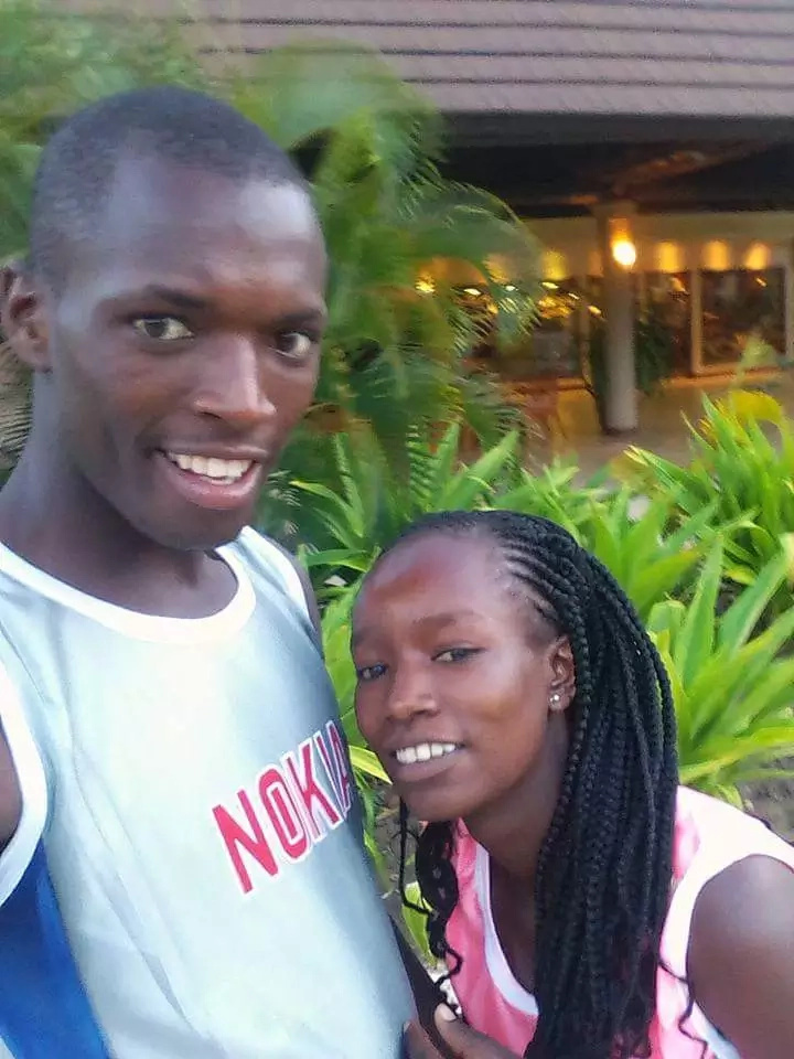 KSh 100 couple enjoying in honeymoon bliss (photos)