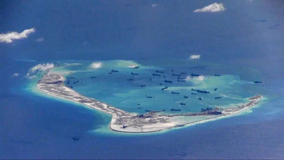 Reclaiming activities imminent in Scarborough Shoal?