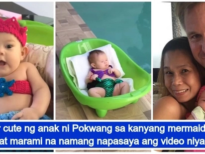 Video of Baby Malia in her mermaid outfit gives netizens their daily dose of cuteness