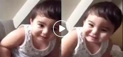 Nakakagigil noon pa man! Adorable Baby Baste make netizens swoon with this clip of him at 1 year and 8 months