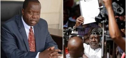 Matiang'i accuses NASA of hiring goons to kill Kenyans and blame police during Raila's swearing-in