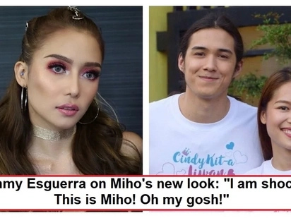 'I didn't recognize her' Tommy Esguerra reacts on Miho Nishida's transformation
