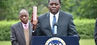 Huyu ndiye mwanamke aliyeahidi kumbeba Eugene Wamalwa 2017