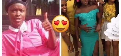 Papa Shirandula actress Awinja gives birth to baby boy (photo)