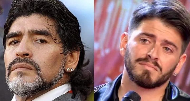 ¡Por fin, después de 29 años!, Diego Armando Maradona reconoció a su hijo Diego Jr.