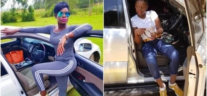 Meet Akothee's hot baby sister who is quite a looker