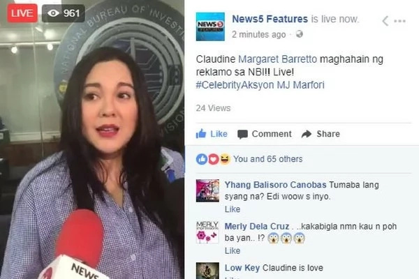 Lagot ka! Claudine Barretto files complaint against basher of 2-year-old adopted daughter