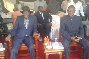 Governor wears two pairs of trousers to a public function (photos)