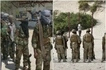 Four al-Shabaab militants killed, photos taken moments before execution by firing squad