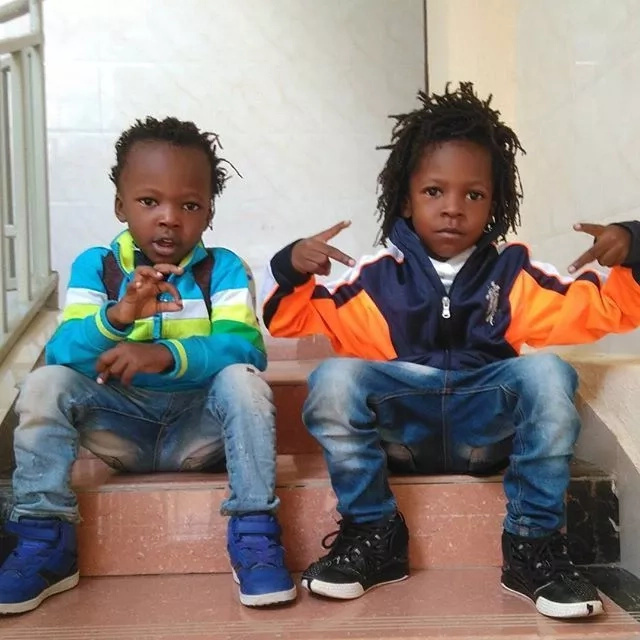 Bahati copies fellow gospel singer, see what he is planning to do with his adopted son Morgan