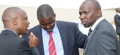 Ruto's top allies including Murkomen overheard fighting SECRETLY at burial