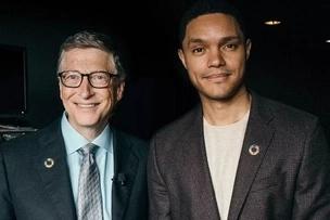 Trevor Noah is killing it and Bill Gates tweets hi to say congratulations