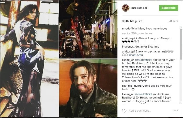 Así se ve Michelle Rodríguez como transexual