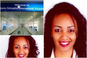 Photos of the sexy air hostess who RETURNED Ksh1M misplaced by a passenger